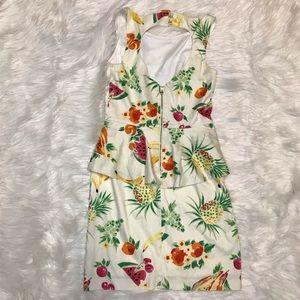 Betsey Johnson Dresses - Betsey Johnson Fruit peplum Dress